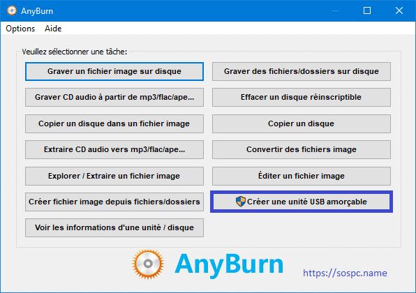 Anyburn, logiciel de gravure tutoriel 2.