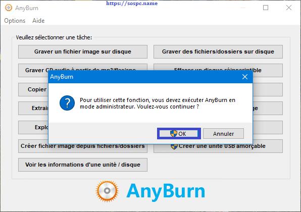Anyburn, logiciel de gravure tutoriel 3.