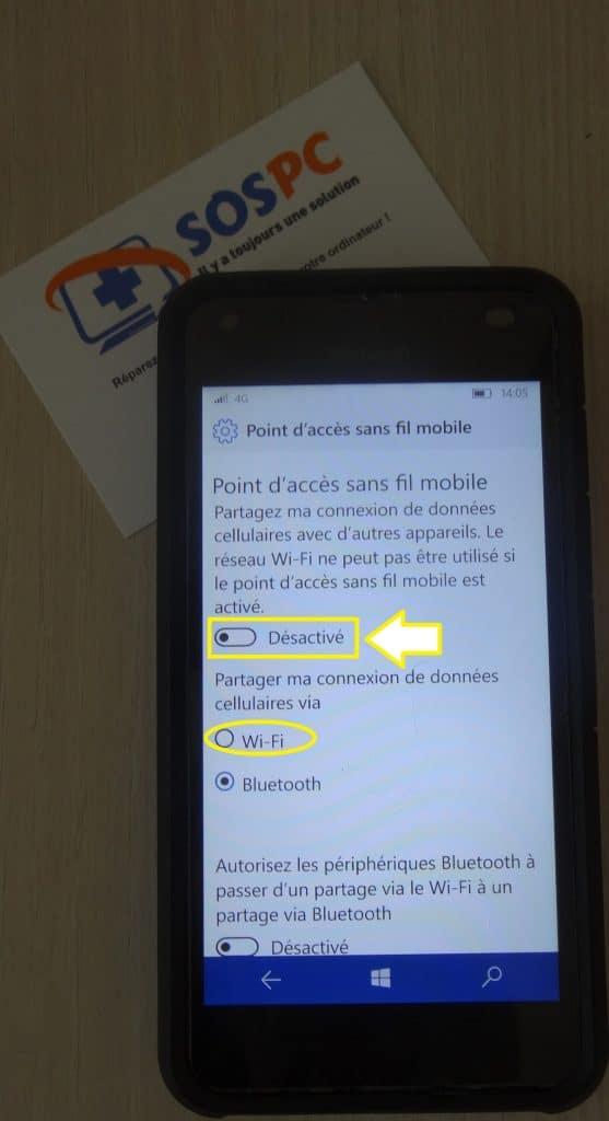 Windows Phone. Utilisez votre téléphone pour connecter votre ordinateur portable sur le réseau 4G. Tutoriel.