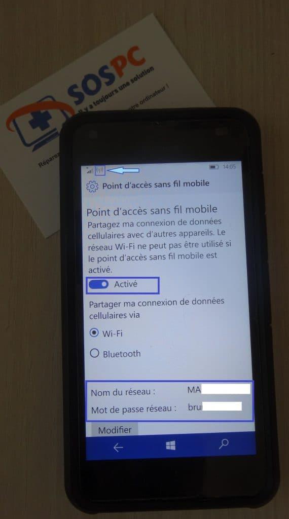 Windows Phone. Utilisez votre téléphone pour connecter votre ordinateur portable sur le réseau 4G. Tutoriel. SOSPC.