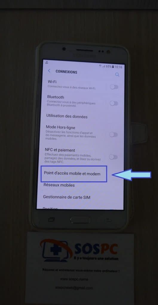 Transformez votre téléphone en Box avec Android. SOSPC.name.