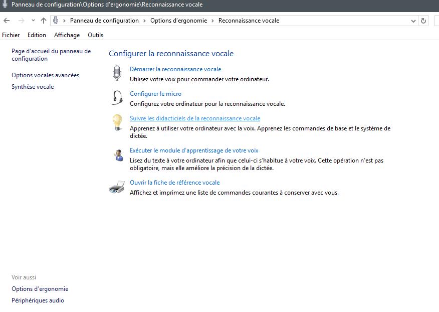 La reconnaissance vocale avec Windows 10 Edge et Word. Sospc.name.