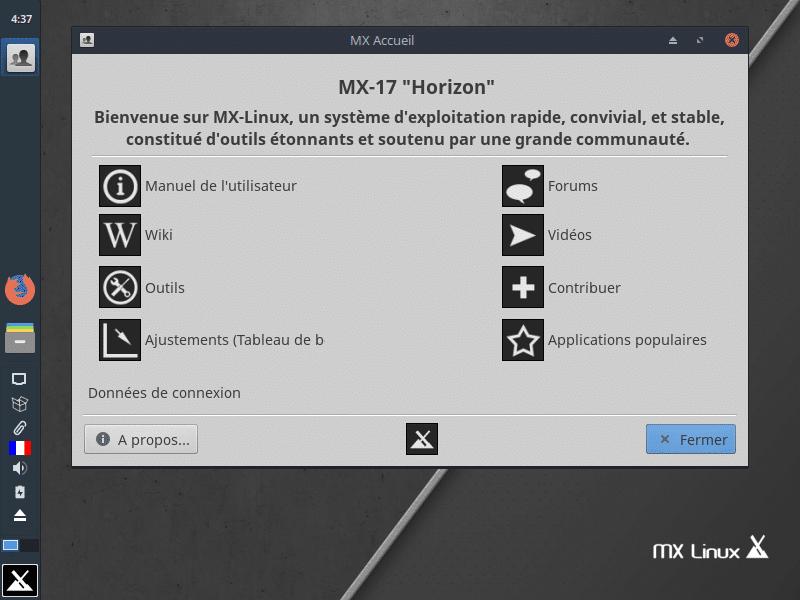 Linux: découvrez le mode persistant de la distribution MX 17. capture 16