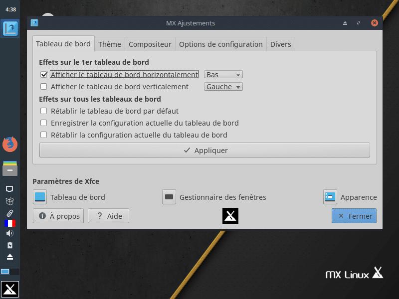 Linux: découvrez le mode persistant de la distribution MX 17. capture 17