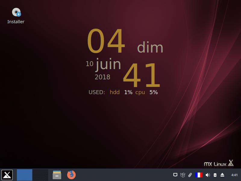 Linux: découvrez le mode persistant de la distribution MX 17. capture 22