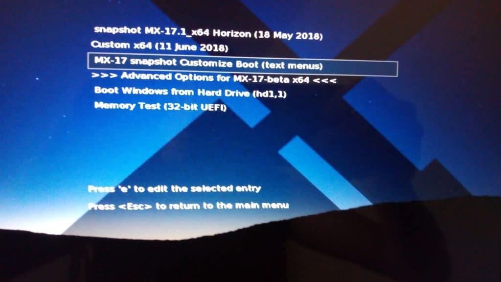 Linux: découvrez le mode persistant de la distribution MX 17.
