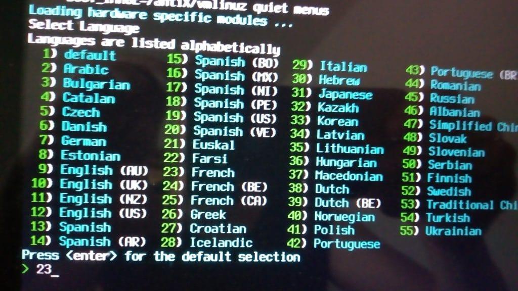 Linux: découvrez le mode persistant de la distribution MX 17. capture 2