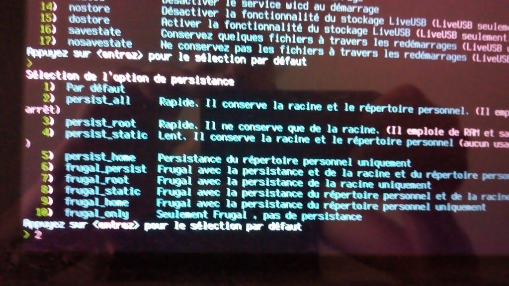 Linux: découvrez le mode persistant de la distribution MX 17. capture 6