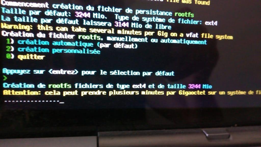 Linux: découvrez le mode persistant de la distribution MX 17. capture 8