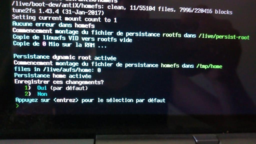 Linux: découvrez le mode persistant de la distribution MX 17. capture 10