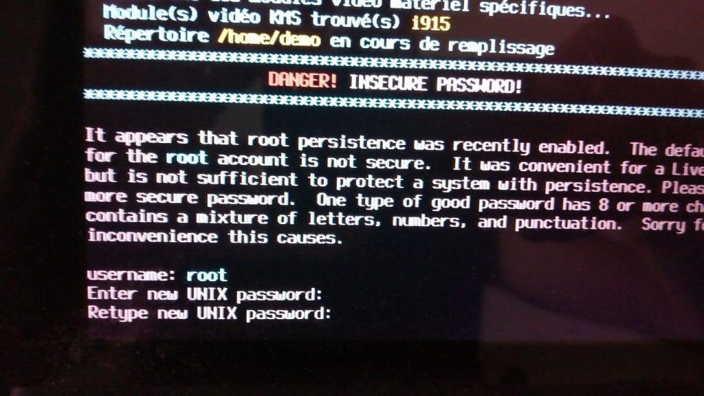 Linux: découvrez le mode persistant de la distribution MX 17. capture 11
