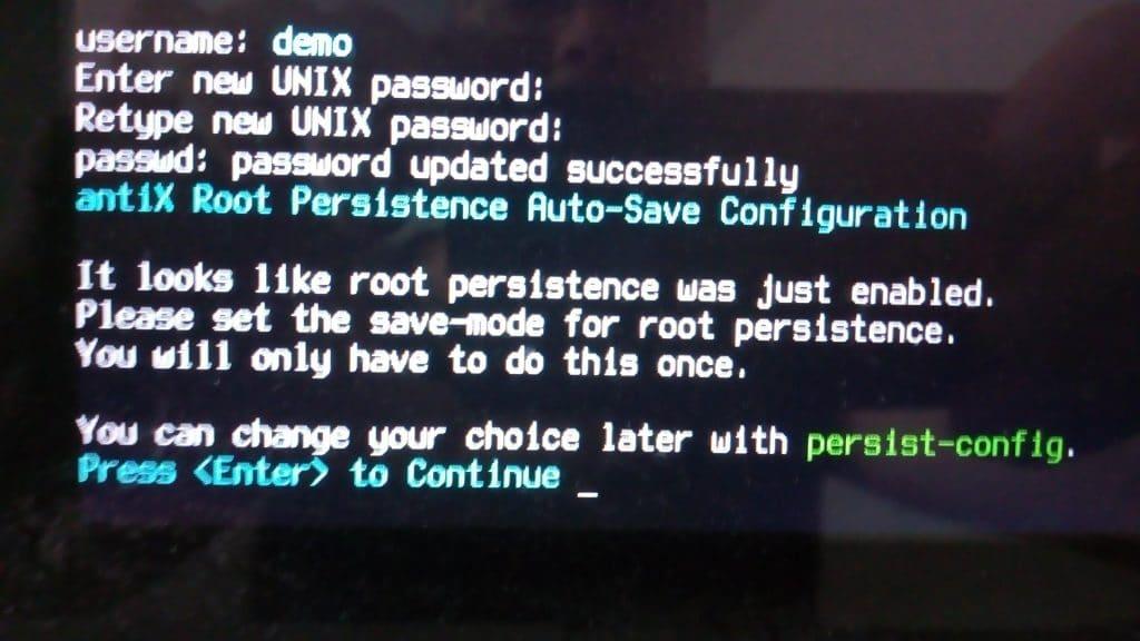 Linux: découvrez le mode persistant de la distribution MX 17. capture 14
