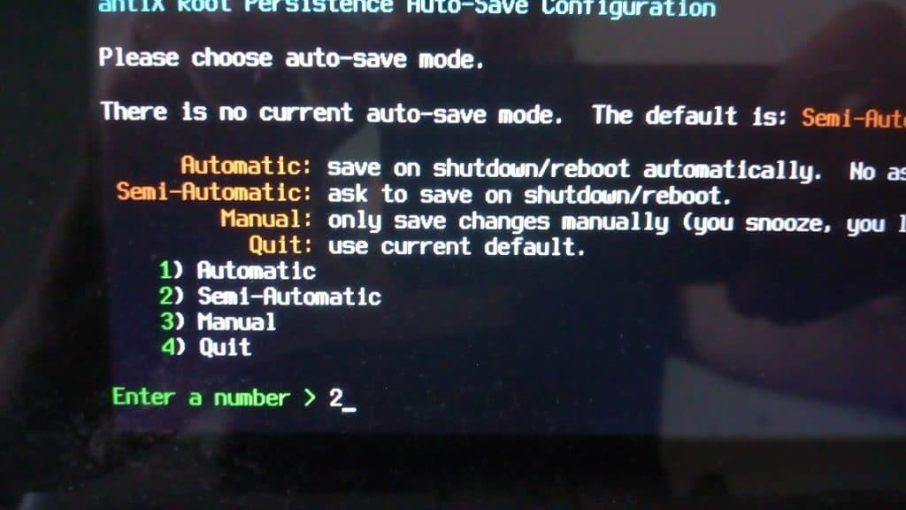 Linux: découvrez le mode persistant de la distribution MX 17. capture 15