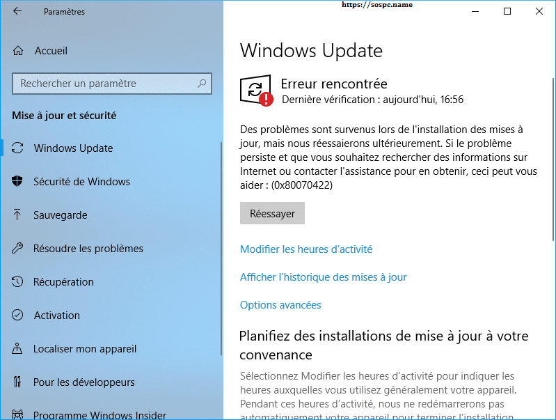 bloquer totalement Windows Update