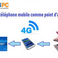 Utiliser son téléphone mobile comme point d'accès Wi-Fi [Replay]