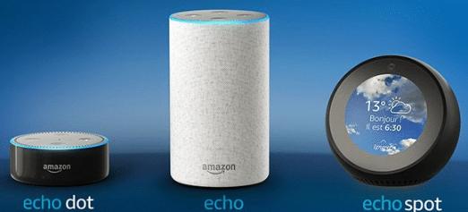 Amazon Alexa : Echo, Echo Dot, Echo Spot, laquelle choisir ?