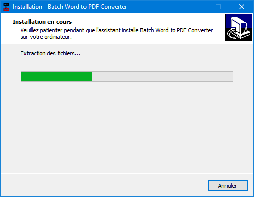 Batch WORD to PDF Converter, tutoriel. SOSPC.name.