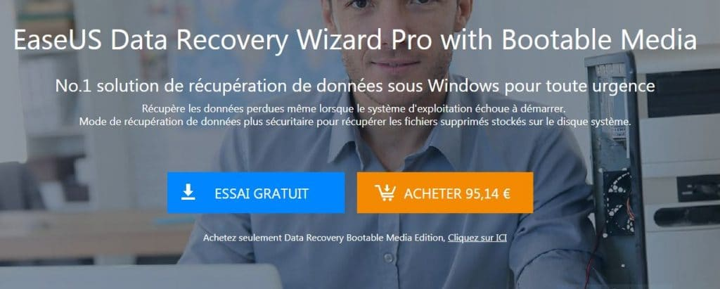 EaseUS Data Recovery Wizard Pro 12.0 + Media bootable.