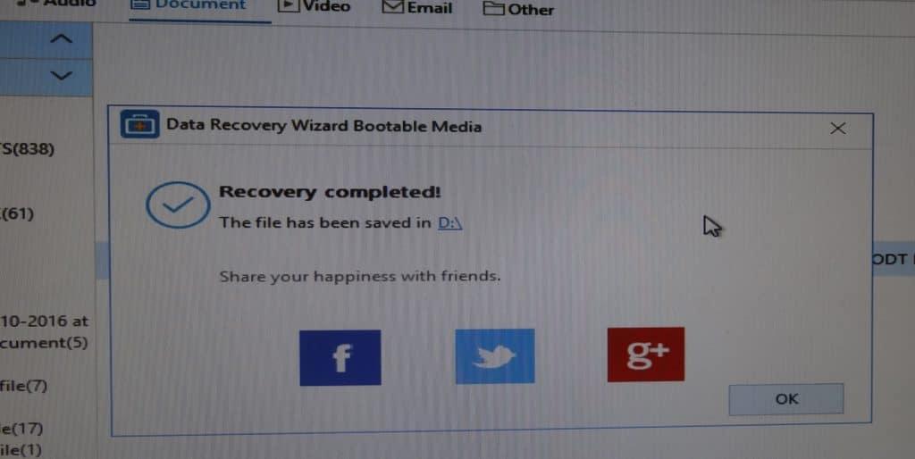 EaseUS Data Recovery Wizard Pro 12.0 comment utiliser média de démarrage, exportation données.