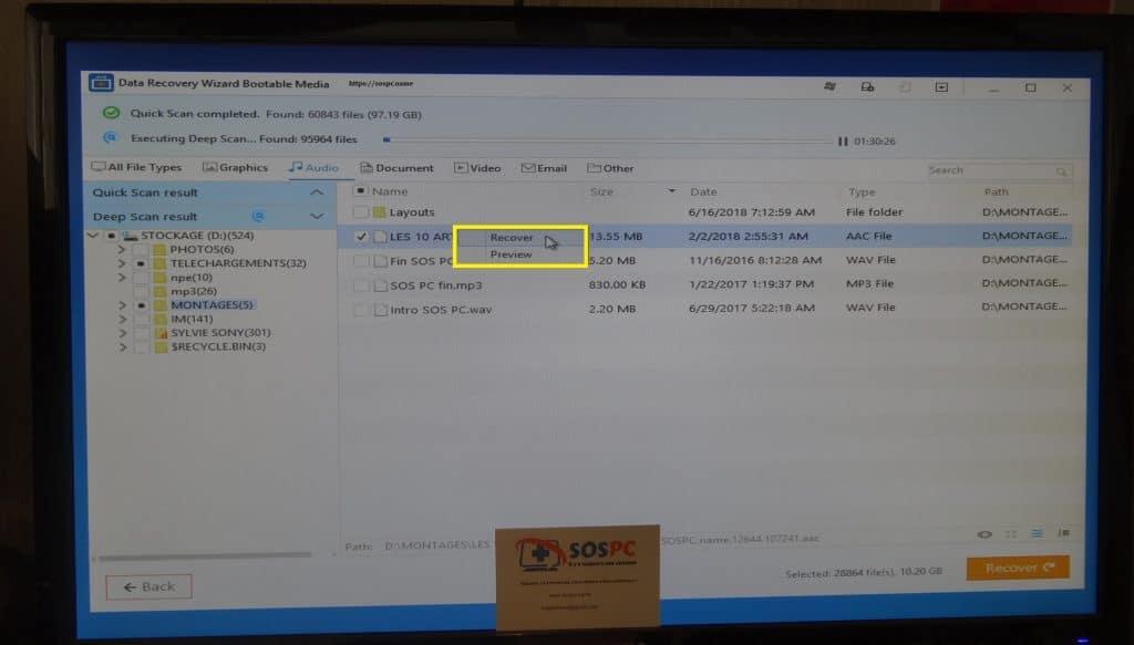 EaseUS Data Recovery Wizard Pro 12.0 comment utiliser média bootable. Tutoriel, conseils.