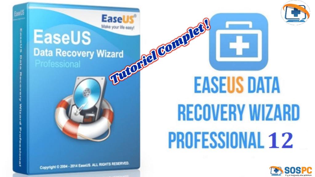 Le logiciel du mois : EaseUS Data Recovery Wizard Pro 12.0 + Media bootable.