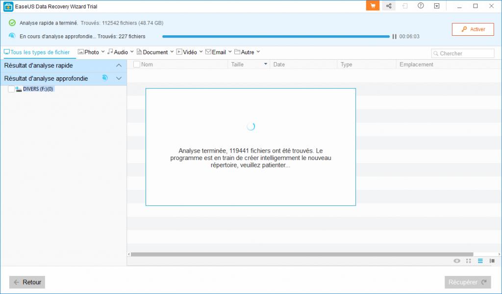 EaseUS Data Recovery Wizard Pro 12.0. Tutoriel d'utilisation. SOSPC.