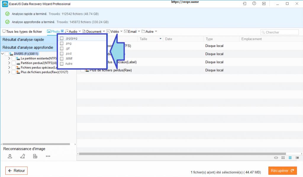 EaseUS Data Recovery Wizard Pro 12.0, aide utilisation, tuto.