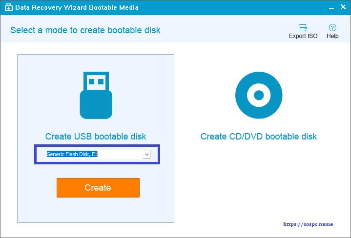 EaseUS Data Recovery Wizard Pro 12.0 tutoriel création média bootable. SOSPC.