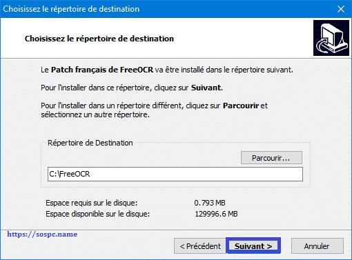 FreeOCR patch francisation colok traduction.com