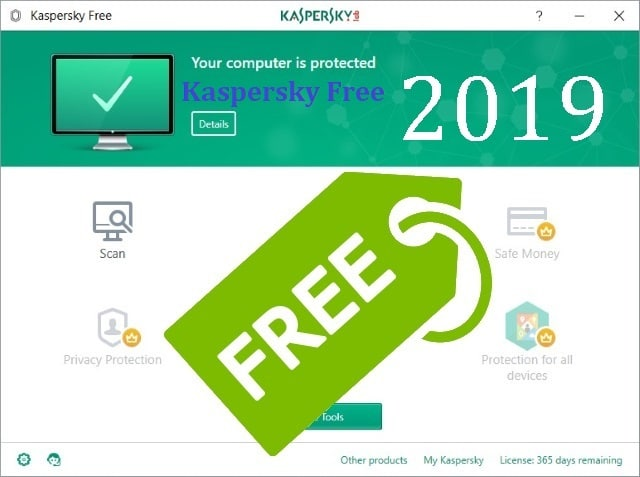Kaspersky Free Antivirus 2019, une bonne protection pour les usages basiques.