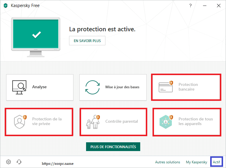 Kaspersky Free Antivirus 2019, tutoriel d'installation capture 14