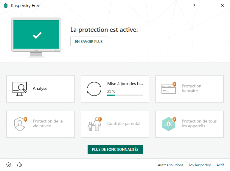 Kaspersky Free Antivirus 2019, tutoriel d'installation capture 16