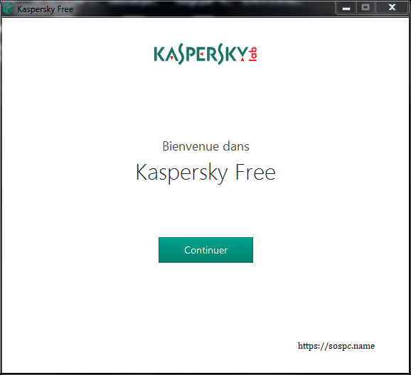 Kaspersky Free Antivirus 2019, tutoriel d'installation capture 2