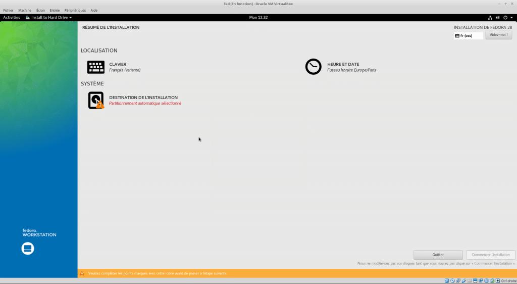 Linux tutoriel installation et utilisation de Fedora capture 17