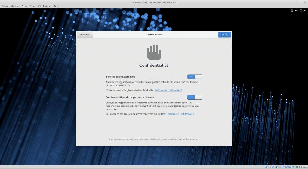 Linux tutoriel installation et utilisation de Fedora sospc.name capture B
