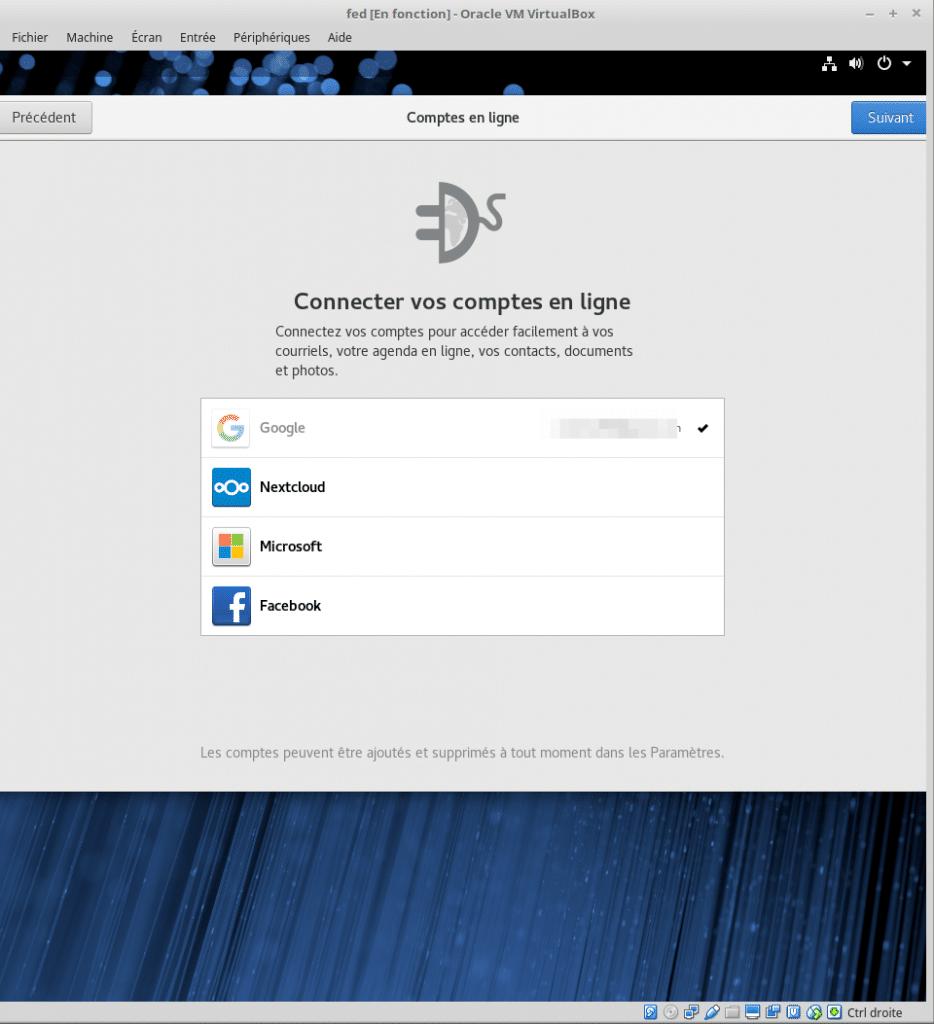 Linux tutoriel installation et utilisation de Fedora sospc.name capture F