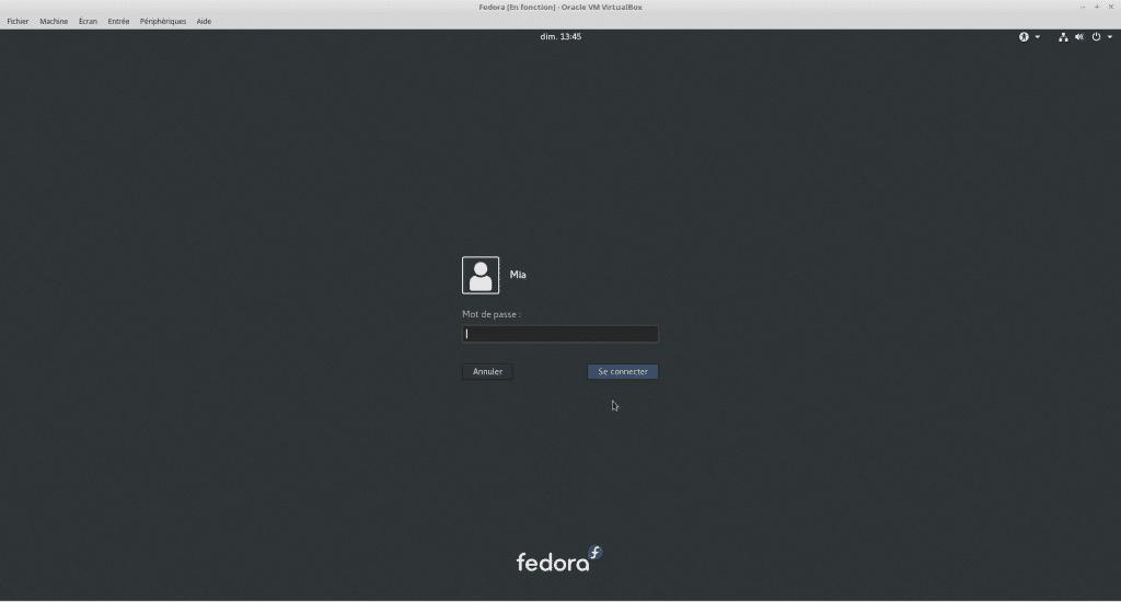 Linux tutoriel installation et utilisation de Fedora sospc.name capture J