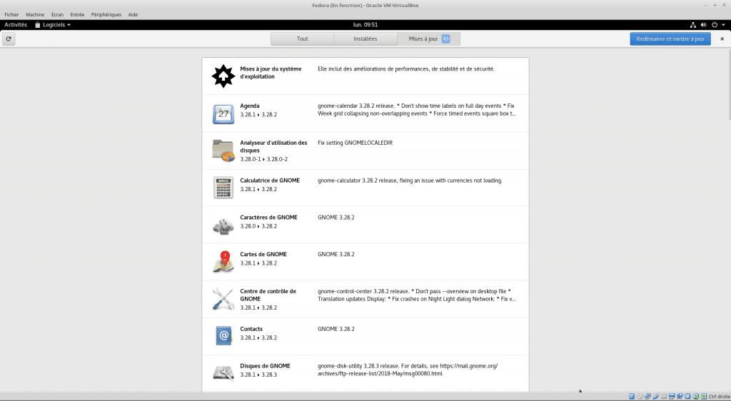 Linux tutoriel installation et utilisation de Fedora sospc.name capture N