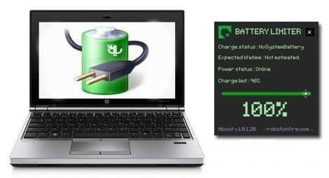 Logiciel en bref : Battery Limiter, augmentez la durée de vie de la batterie de votre portable.