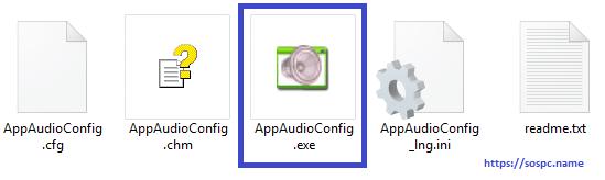 AppAudioConfig modifiez le volume sonore tutoriel 1