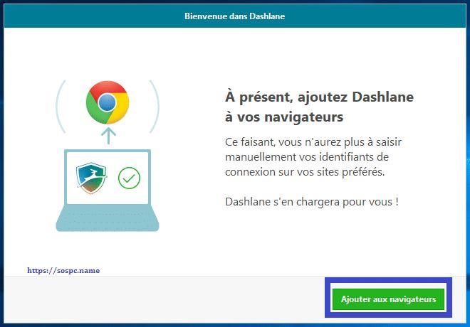 Dashlane gestionnaire de mots de passe capture d'écran 10