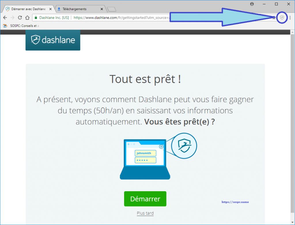 Dashlane gestionnaire de mots de passe capture d'écran 12