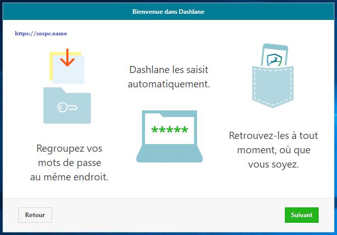 Dashlane gestionnaire de mots de passe capture d'écran 8