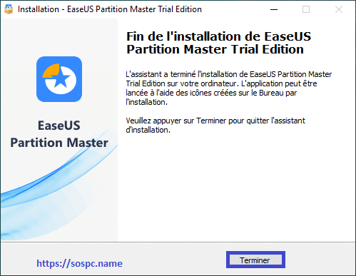 EaseUS Partition Master Pro 13 tutoriel image 3