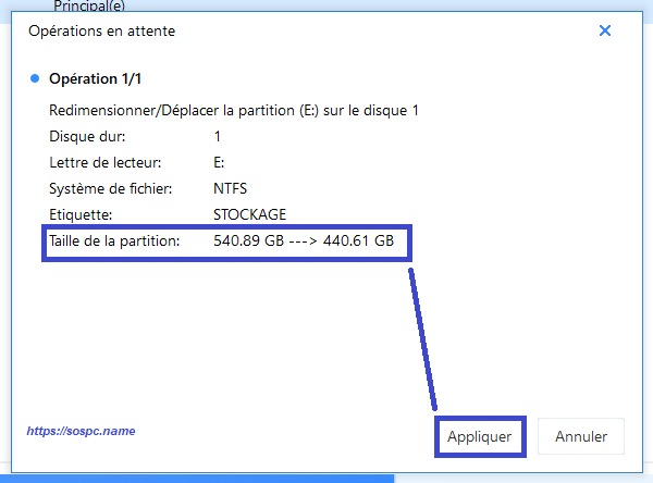 EaseUS Partition Master Pro 13 tutoriel image 15
