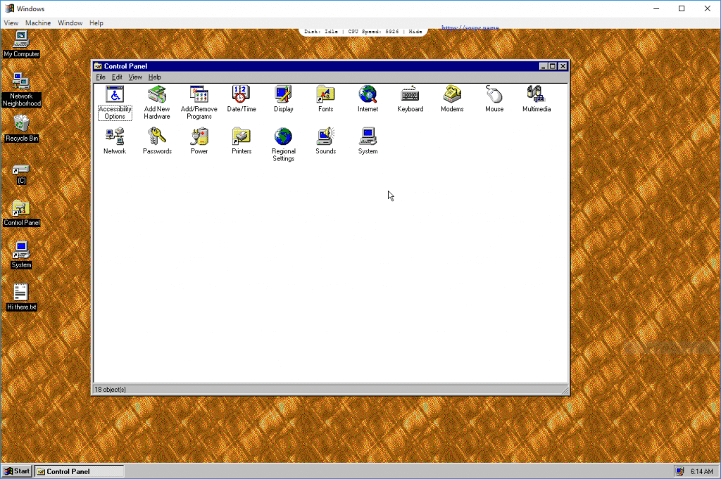 Et si vous essayiez Windows 95 ? Sospc.name image 5
