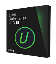 IObit Uninstaller 8 Logo boite