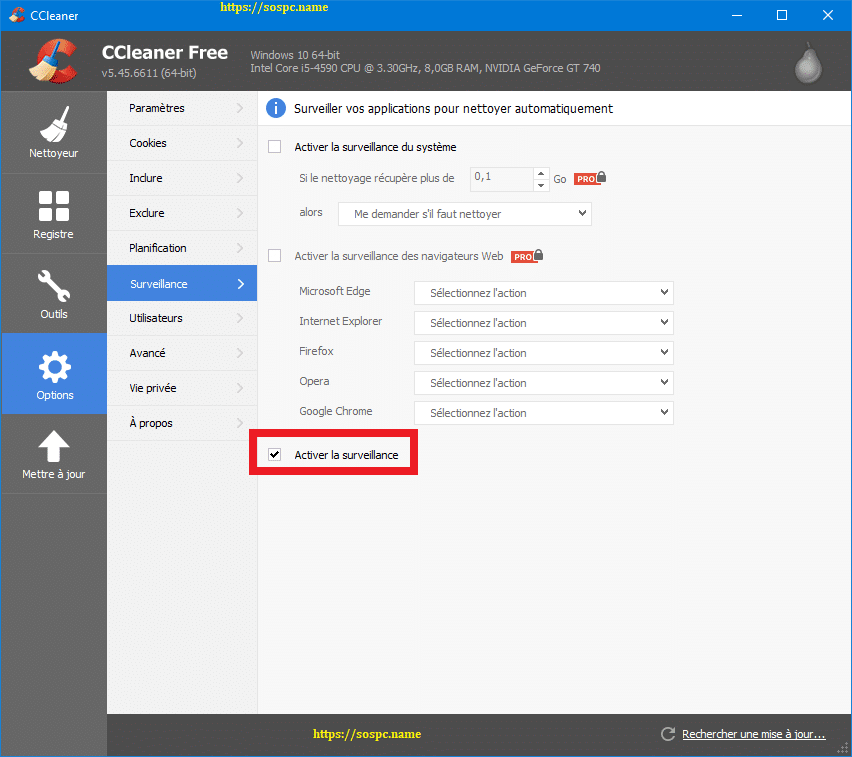 N'installez pas la 5.45 de CCleaner capture 10