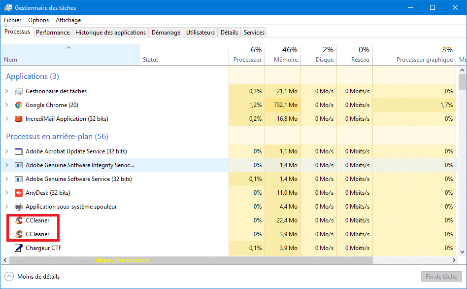 N'installez pas la 5.45 de CCleaner capture 14