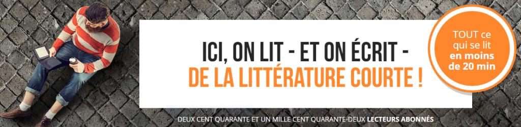 Short-edition.com, un Éditeur qui ne publie que des histoires qui se lisent en quelques minutes !
